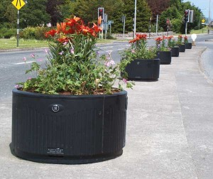 HC200 Ductile Iron Planter
