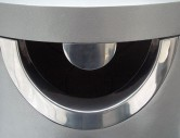 Stainless Steel Rim with optional Restrictor Plate to restrict domestic waste from being deposited