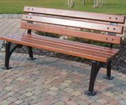 traditional bench ireland
