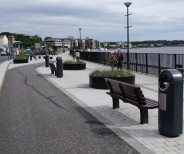 Queens Quay Derry, Street Furniture