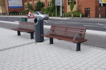 Queens Quay, Derry Seats and Litter Bins