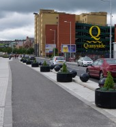 Queens Quay, Derry - Street Furniture