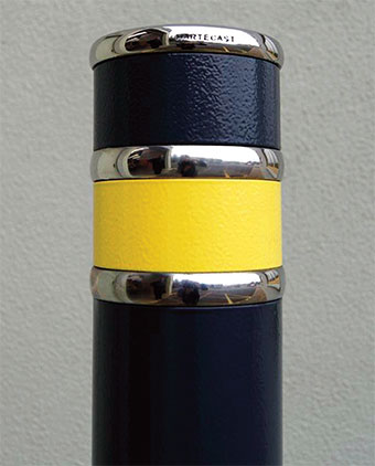 HC2010DC Bollard with Double Collar