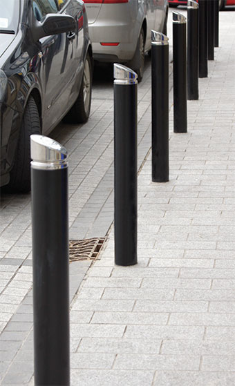 HC2067 Bollard (Powder Coat Finish)