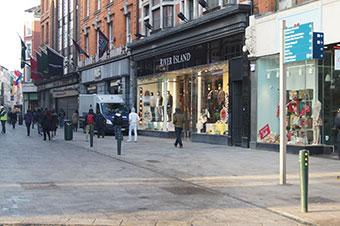 Hartecast chosen again for Grafton Street