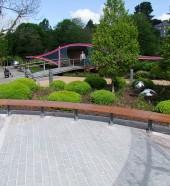 architectural street furnishings - street furniture bench - Mardyke Garden