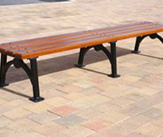 Hyde Park Bench 8ft