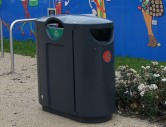 HC2053 recycle litter bin