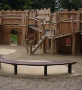 HC2026 bespoke curved bench