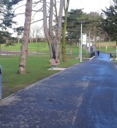 Portadown public park furniture