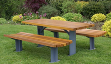Street Furniture - Picnic Set HC2026