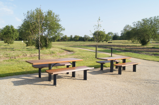 Wheelchair access picnic set