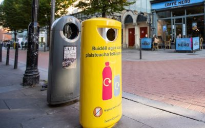 Bringing on-street recycling to Dublin city centre!